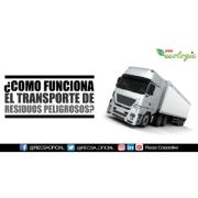 CÓMO FUNCIONA EL TRANSPORTE DE RESIDUOS PELIGROSOS