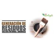 GENERACIÓN DE RESIDUOS   SECTOR PINTURAS Y BARNICES