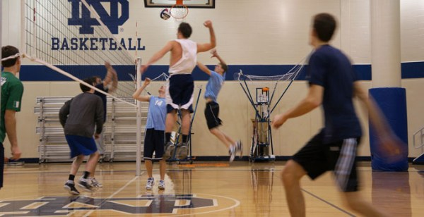 Men's Volleyball // RecSports // University of Notre Dame
