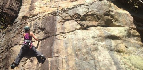 Climbing the Obed