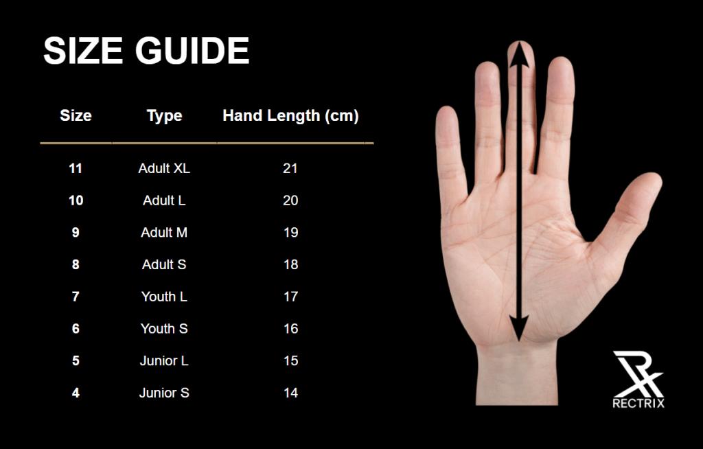 Rectrix Size Guide