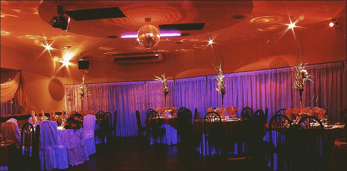 Lugares para realizar una boda salón eventos de noche