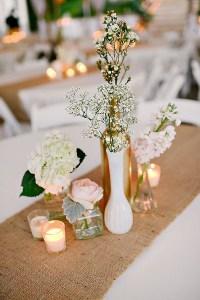 Como hacer los mejores centros de mesa para boda