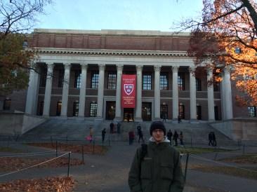 Bilbiothèque de Harvard
