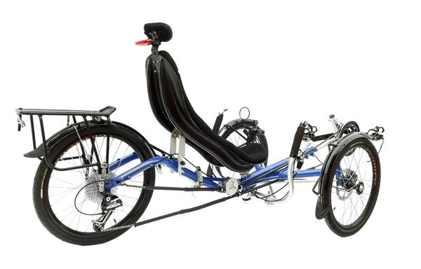 Trident Stowaway rear side  view