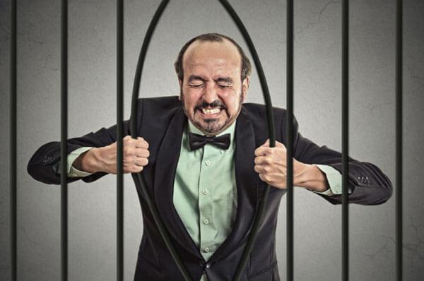 Man-in-jail