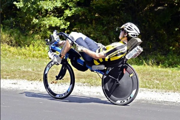 Two-wheel-recumbent