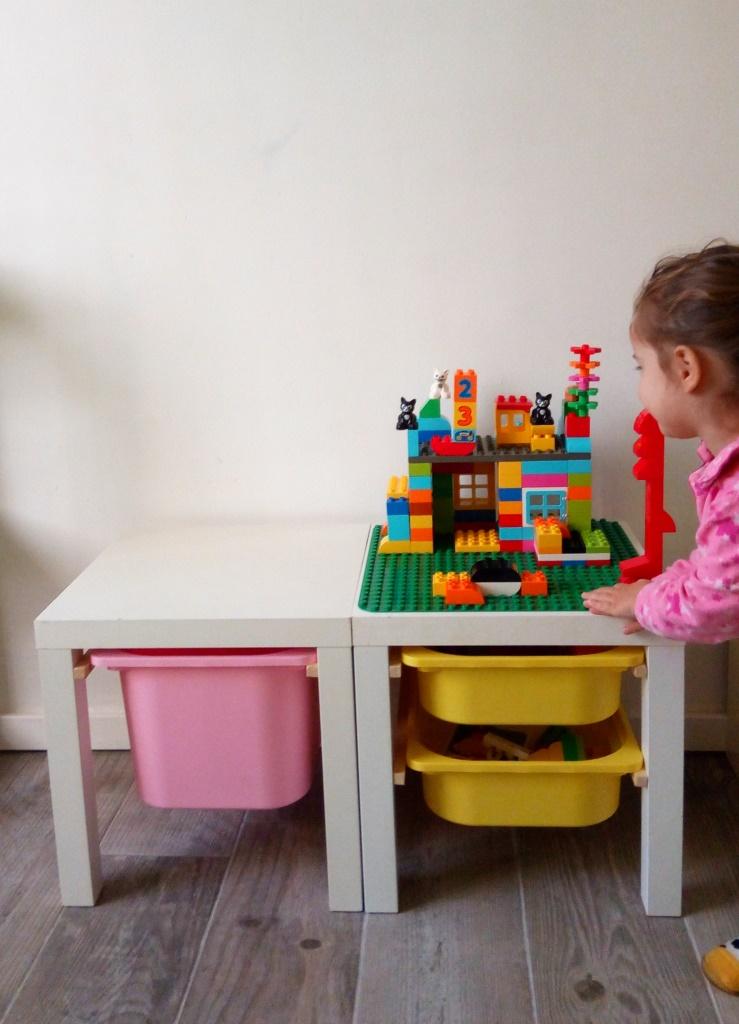 Ikea Hack Tables Lack Bacs Trofast Pour Un Espace De Jeu