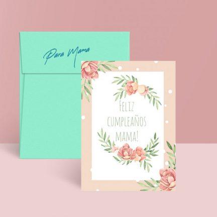 tarjeta cumpleaños madre gratuita