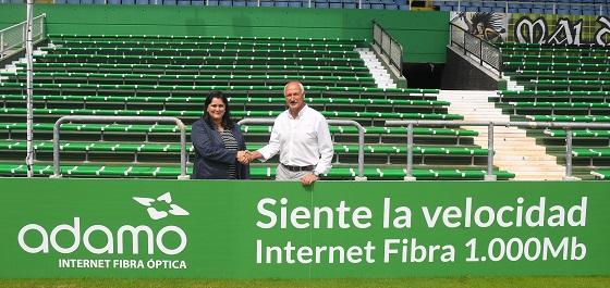 El Rancing de Santander elige a Adamo como su operador de fibra óptica