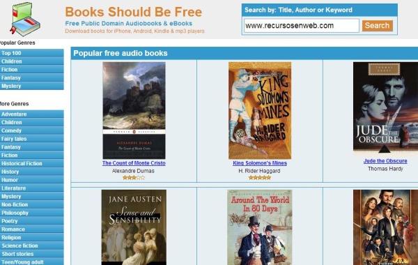Escuchar Libros En Linea Gratis