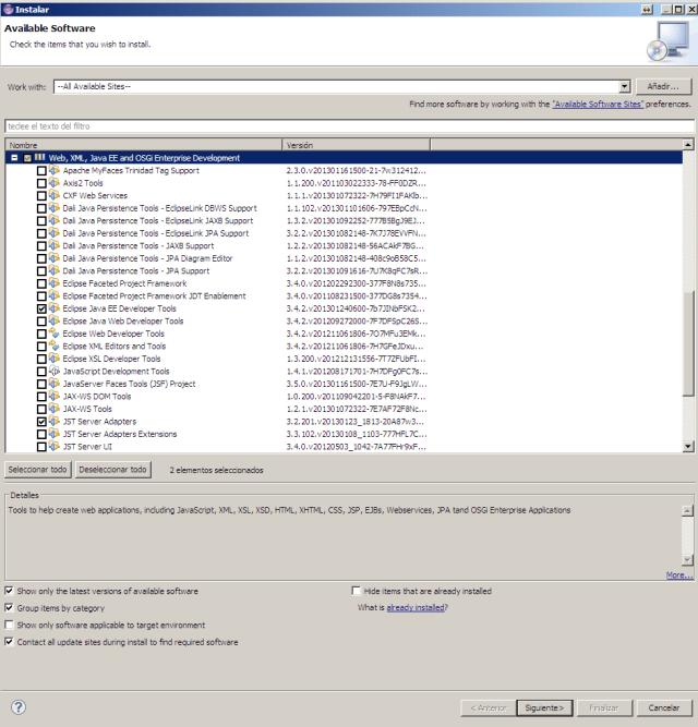 Eclipse-Instalar nuevo software