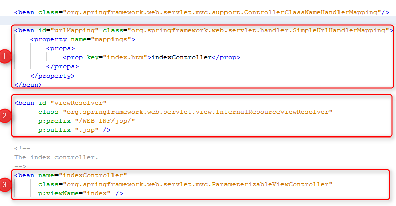 Spring y Netbeans. fichero dispatcher-servlet.xml