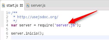 node.js - requiere con nombre de módulo