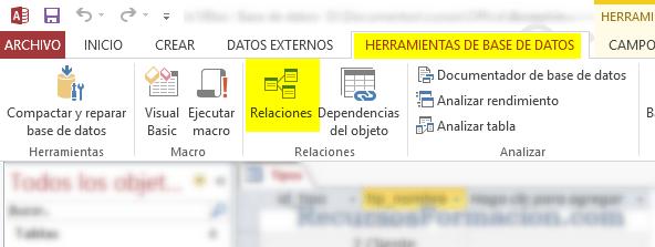Access.Relaciones