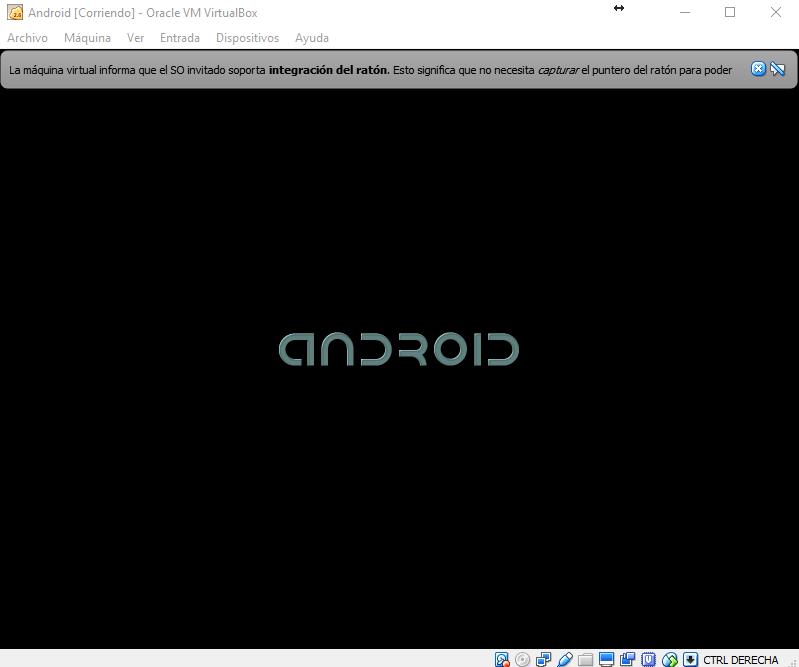 Arrancando Android