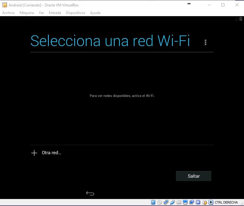 Android configurando wifi