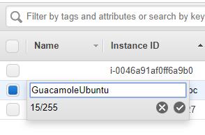 AWS. Modificando nombre de servidor