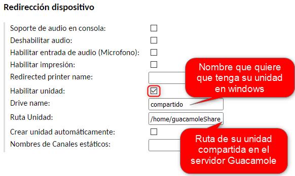 Añadir envio de ficheros RDP en guacamole