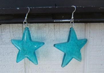 star-melted-bead-earrings