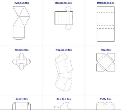 free box patterns