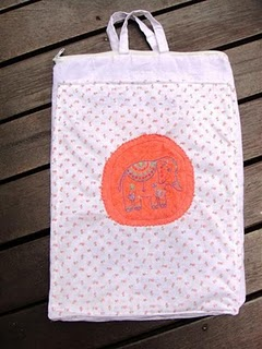 how to make a rice bag without sewing