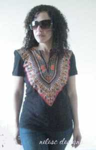 Nelesc Designs dashiki refashion