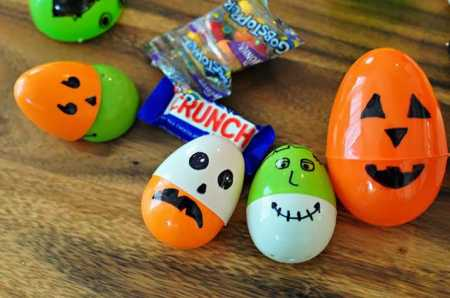 easter eggs for halloween decorations 2 - Recycled Halloween Decorations