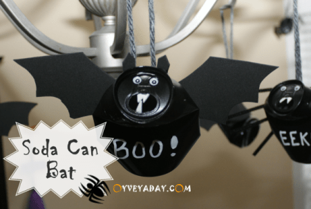 How To Make A Recycled Soda Can Bat Recycled Crafts
