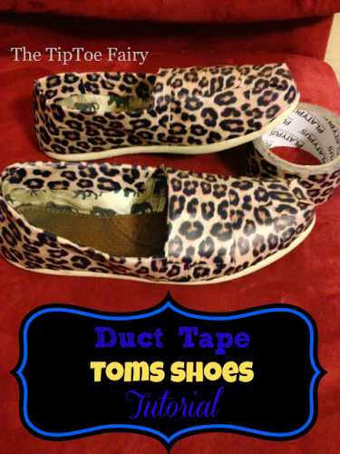 How to transform shoes with Duct Tape