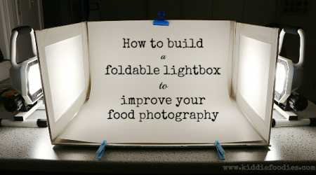 How to build a foldable lightbox