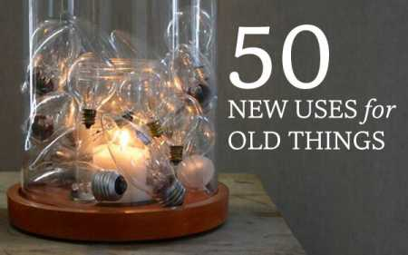 50 great recycled ideas