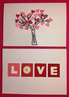 How to make a whole bunch recycled paint swatch Valentines