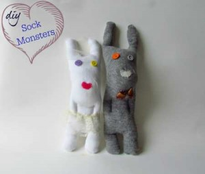 tutorial sewing dolls from socks