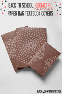Back-to-School-Geometric-Paper-Bag-Textbook-Covers