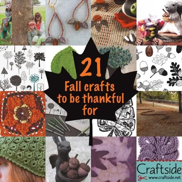 21 Fall crafts