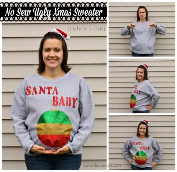 santa baby maternity shirt