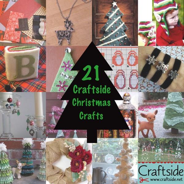 21 christmas crafts craftside2