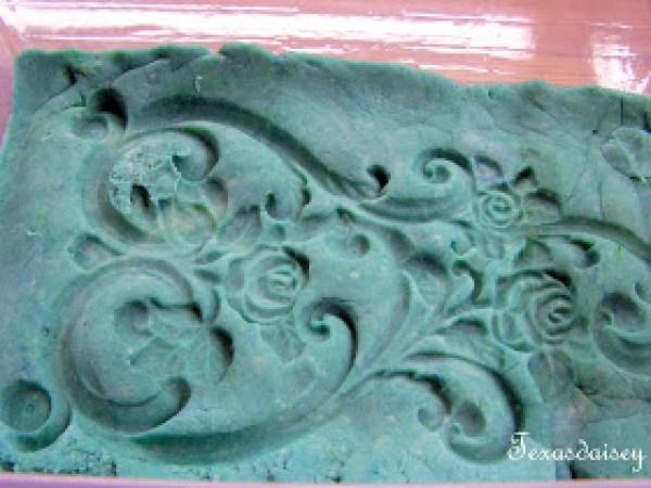how to make a playdough mold