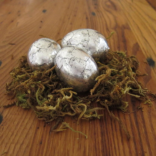 aluminum foil easter eggs copy