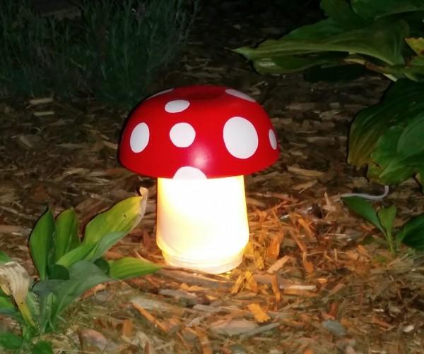 lawn light mushroom