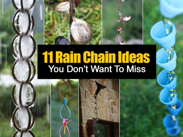 How To Make A Copper Ring Rain Chain