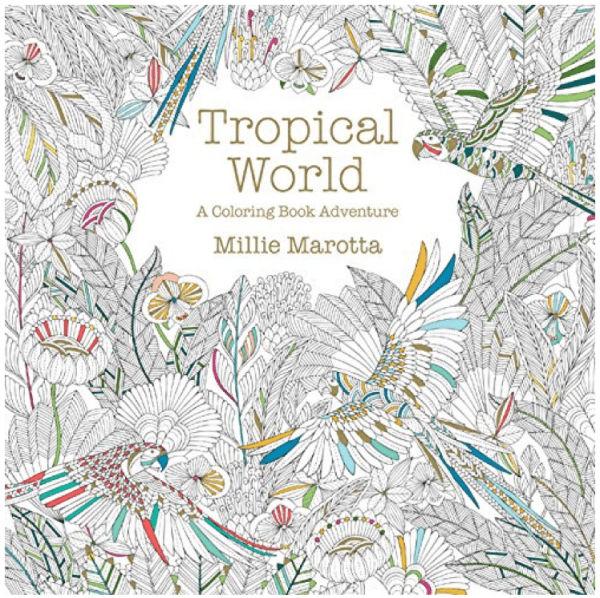 Giveaway Tropical World A Coloring Book Adventure