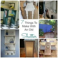 7 Things to Make With an Old Shutter