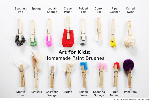 16 Homemade Paint Brushes For All Sorts Of Effects