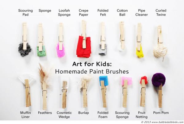 Angular Paint Brush Clip Art