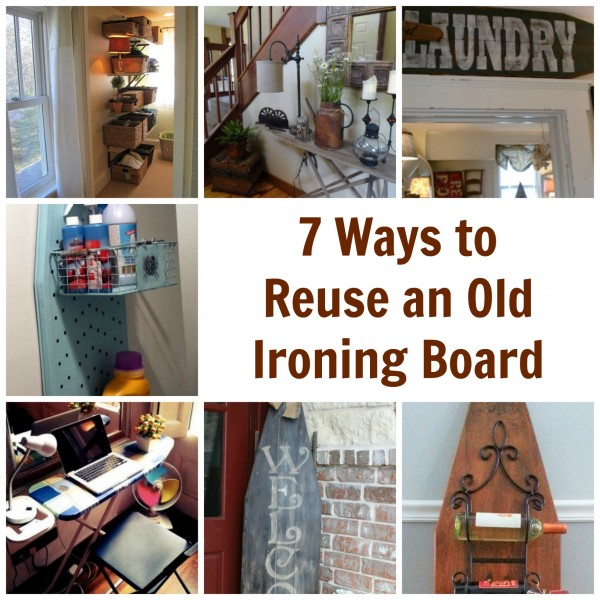 Decorating A Wooden Ironing Board