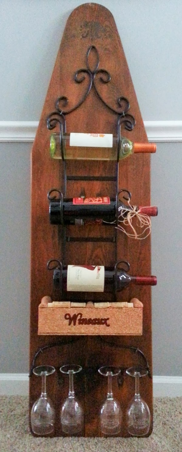 7 Ways To Reuse And Old Ironing Board Recycled Crafts