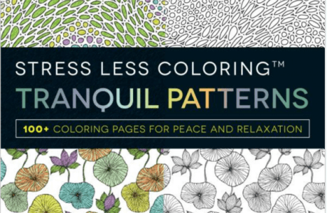 Giveaway- Stress Less Coloring Tranquil Patterns