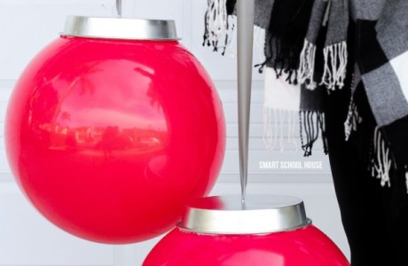 How to make giant ball ornaments